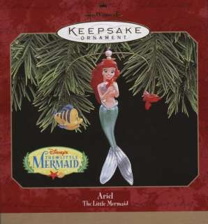 Disney Ariel Little Mermaid Hallmark Ornament NIB 1997