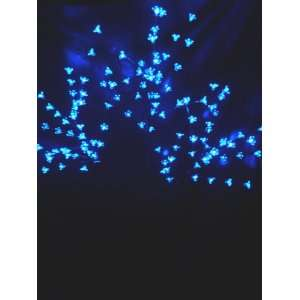 165cm Blue LED Black Cherry Blossom Tree   LC2 [Kitchen