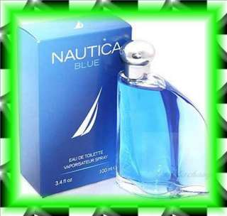 NAUTICA BLUE by Nautica 3.4 oz Cologne MEN NEW IN BOX