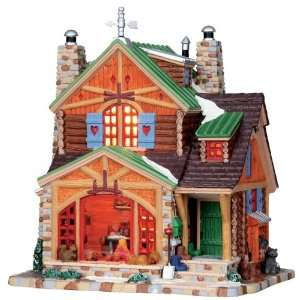 Village Collection Cozy Cabin Lighted Building #05077