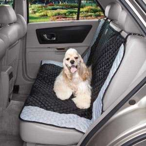 Guardian Gear Fairfield Standard Dog Car Seat Cover 55 x 42 Black