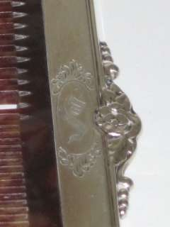 Sterling Silver Vanity Brush & Comb Set by The Blackwell Co.