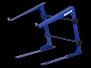 ODYSSEY LSTANDSNVY NAVY TABLE TOP LAPTOP DJ STAND NEW