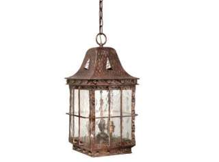 outdoor antique vaxcel fixture hanging pendant lodge light ED ODD090CI