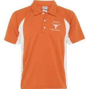 Texas Longhorns Orange Volleyball Polo Shirt Sports