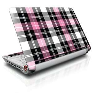 Pink Plaid Design Protective Skin Decal Sticker for Acer