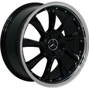 (4) BLACK 18 INCH MERCEDES BENZ WHEELS RIMS Automotive