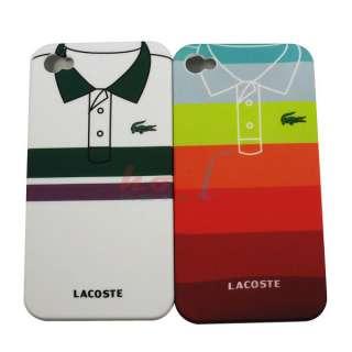 PCs Lovely T Shirt Design Hard Back Case Cover For iPhone 4 4G