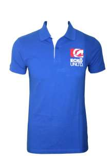 NEW MENS ECKO UNLTD POLO SHIRT T SHIRT BLUE WHITE BLACK