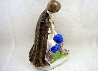VINTAGE 1960's USSR RUSSIAN FIRST TBILISI PORCELAIN FIGURINE