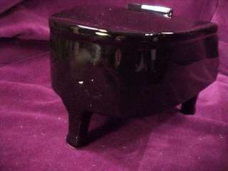 Vtg Black Grand Piano Music Box I Wanna Be Loved by You