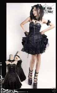 Fashion Punk Rock Lolita Goth NANA Kera Princess Dress
