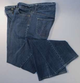 Chico's Charm Platinum Blue Jeans Size 1 Reg – Stretchy and fits