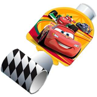 Disney Cars 2 Birthday Party Favors Hats Blowouts