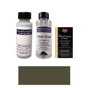 Charcoal Beige Metallic Paint Bottle Kit for 2007 Ford Police Car (T7