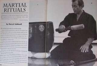 1994 INSIDE MARTIAL ARTS WEN MEI YU DAVE LACEY BLACK BELT KARATE KUNG