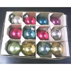 Shiny Brite Glass Christmas Tree Ornaments   Assorted