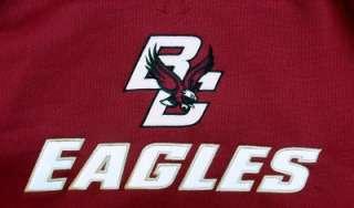 Reebok Boston College Eagles Showboat Hoody Sweatshirt MEDIUM
