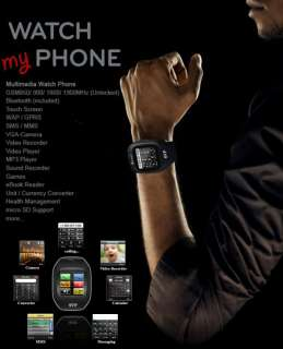 SVP G13 GSM Unlocked Watch Cell Phone [aT&T / T Mobile]