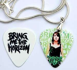 Bring Me The Horizon Necklace + 2 Sided Guitar Pick