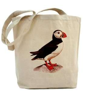 Atlantic Puffin Sea Parrot Birds Tote Bag by CafePress