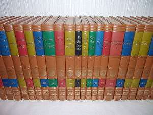 54 VOLUME SET  GREAT BOOKS  BRITANNICA  1952  FINE BINDING  HARDCOVER