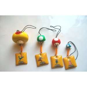Mascot Phone Charm Strap Set ~Super Mario Bros.~