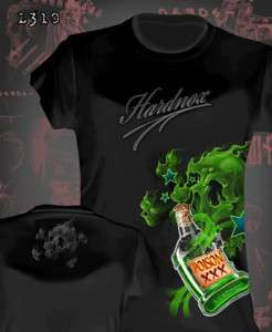 Hardnox Lucky 13 Sullen Felon Tattoo Apparel Womens Tee Shirt Poison S