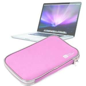 DURAGADGET Water Resistant Pink 17 Inch Laptop Sleeve For Apple