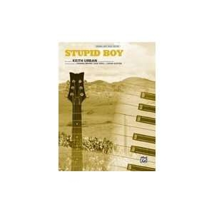 Stupid Boy (Piano/Vocal/Chords, Original Sheet Music