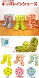 JAPAN LINDA LINDA PVC CHILDS RAIN SHOES/BOOTS 3 STYLES