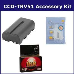 Sony CCD TRV51 Camcorder Accessory Kit includes HI8TAPE Tape