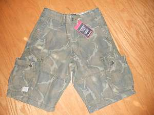 NWT Men Boy LEVI STRAUSS Authentics 100%Cotton Camouflage Chino Cargo