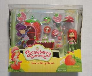 STRAWBERRY SHORTCAKE SUNRISE BERRY MARKET, NEW