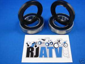 Suzuki LT250R Quadracer Rear Axle Bearings And Seals