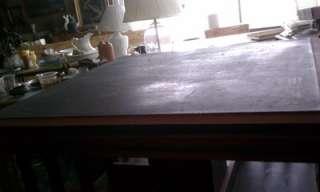Antique Revolving Bookcase Cast Iron Base/castor wheels slatted Danner