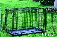 Extra Large 48 Dog Crate Cage 2 Door w/Divider 35H