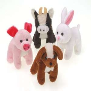 Furry Farm Animals Toys & Games