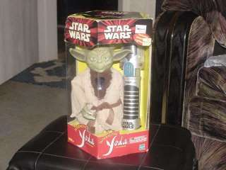 Star Wars Yoda Furby Interactive Toy W/Box Tiger 2000
