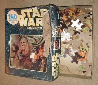 1978 Kenner Star Wars 140 Jigsaw Puzzle Han Solo & Chew