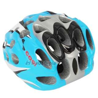 Bike Helmet New Cool EPS PVC 39 Vents Sports Bicycle Cycling Blue