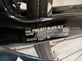 2011 Specialized Tarmac Pro Project Black Sram Force Size 56cm
