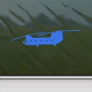 CH 47 Chinook US Army Helicopter Blue Decal Car Blue