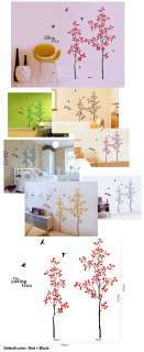 7m 2 colors HUGE tree Mural Vinyl Wall Decal Stickers