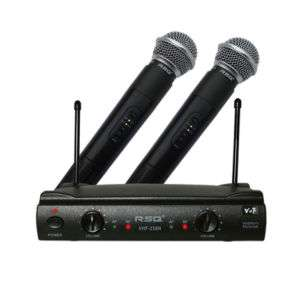 RSQ VHF 238N Prof. Dual Channel VHF Wireless Mic System