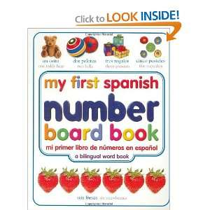 My First Spanish Number Board Book/Mi Primer Libro de
