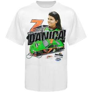 Chase Authentics #7 Danica Patrick White Name, Number & Car