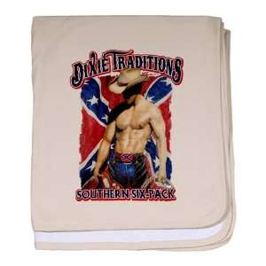 Pink Dixie Traditions Southern Six Pack On Rebel Flag: Everything Else