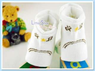 Pairs♥Baby Toddler Boy Girl Crew Socks♥Many Designs♥
