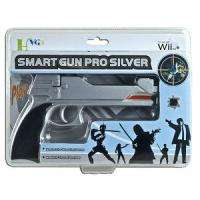 Smart Gun Pro for Nintendo Wii Remote and Nunchuk Controllers (Silver
